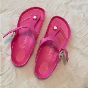 NWOT Birkenstock Pink EVA Sandals